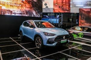 為用戶提供更多選項 廣州車展實拍名爵領航PHEV