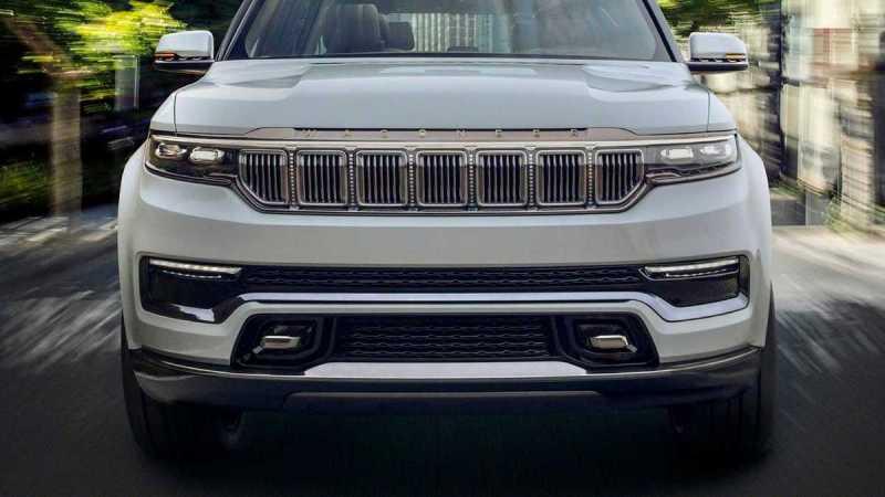 对标凯雷德 Jeep新一代旗舰SUV将