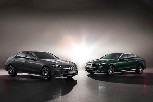 """""""双前脸""""设计 全新奔驰C级长轴距售32.52万起"""